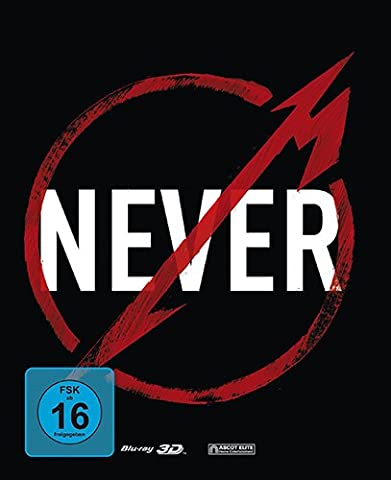 Metallica Steelbook 3D - Through The Never 2 - Disc [Blu-ray] [Limited Edition]