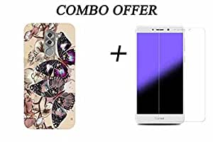 Honor 6X (Back Cover +Tempered Glass Combo Pack) GOON SHOPPING