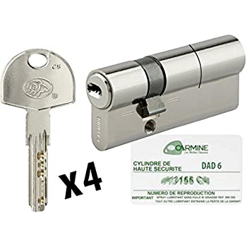 Abus DN Cylindre Nickel D  X  Mm AmazonFr Bricolage