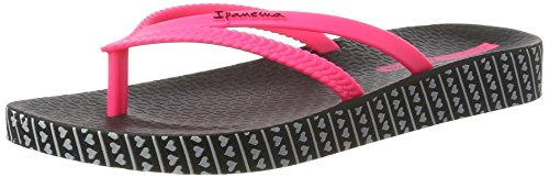 Ipanema - Ipanema Bossa Soft Fem, Infradito Donna Mehrfarbig (black/pink)