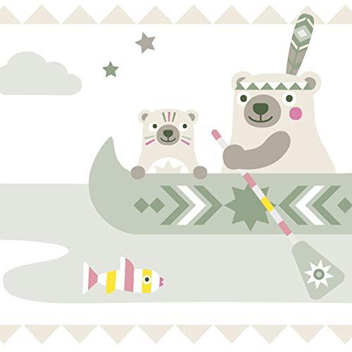 Anna wand design cenefa infantil adhesiva - diseño