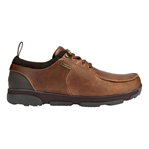 OluKai Makoa WP - Mens Fox/Dark Wood