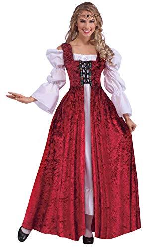 Forum Novelties Plus Size Women's Medieval Laced Gown Plus