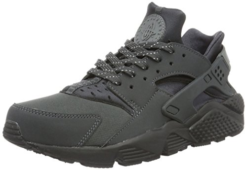 Nike Air Huarache Run, Sneakers Basses Homme Noir (Anthracite/cool Grey/black/cool Grey)