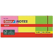 tesa® Notizblätter, 3 x 80 Blätter