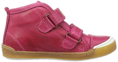Bisgaard Unisex-Kinder Klettschuhe High-Top Pink (4001 Pink)