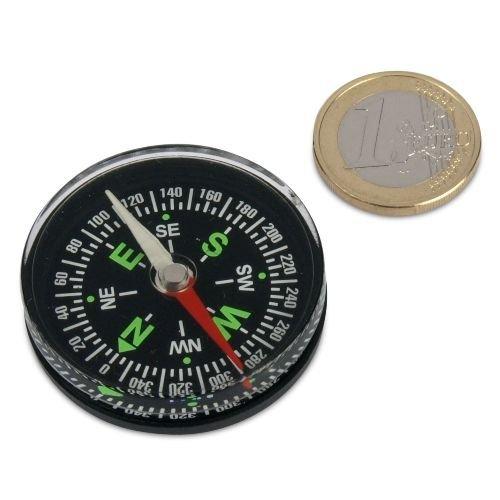 großer Kompass Durchmesser 40 mm, für Magnetismus und Co.