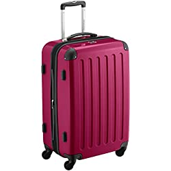 HAUPTSTADTKOFFER - Alex - Bagage Rigide Valise Moyenne, Trolley avec 4 Roues multidirectionnelles, 65 cm, 74 litres, Magenta