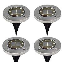 المصابيح الشمسية الأرضية، 8 الصمام للطاقة الشمسية حديقة ضوء في الهواء الطلق في الأرض