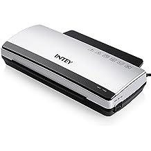 INTEY A4 Laminiergerät mit ABS-Funktion Schnelle Aufwärmgeschwindigkeit Heiß- und Kaltlaminieren für Office und Home [10 PCS Laminierfolien]