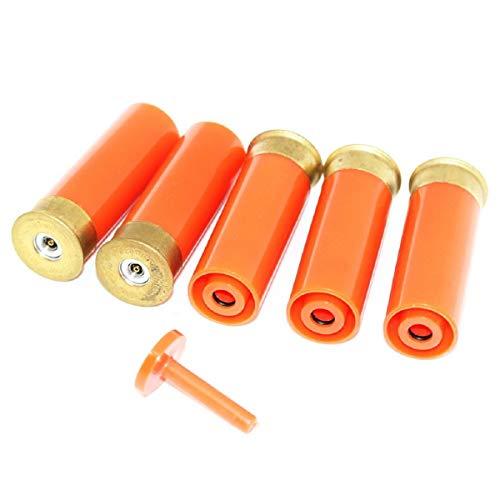 Airsoft Softair Ersatzteile PPS 5pcs Gas Shell für M870 Pumpe Action Schrotflinte Orange -