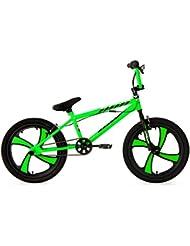 KS Cycling Jungen Fahrrad BMX Freestyler Cobalt, Grün, 20, 522B