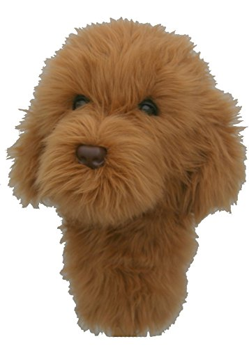 Goldendoodle Golf Headcover -