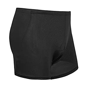 Inbike Unisex cycling underwear Adult with 3D gel padding, breathable, L