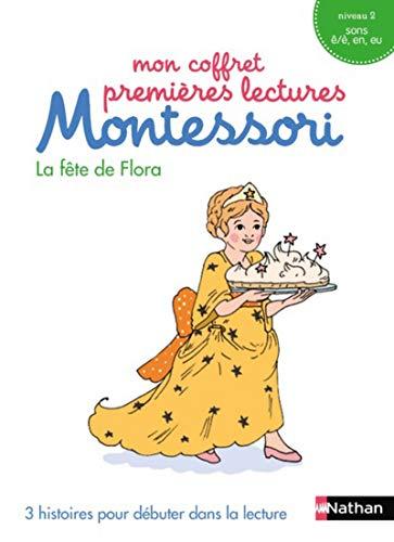 Mon coffret premières lectures Montessori : La fête de Flora - Niveau 2 - 4/7 ans (7)