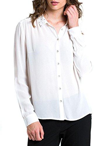 Naf Naf Chemise HMU1 Blanc Blanc