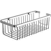 KES A4023 Rectangular bañera y ducha pulpar Pared, aluminio