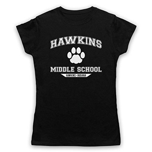 Inspiriert Durch Stranger Things Hawkins Middle School Paw Logo