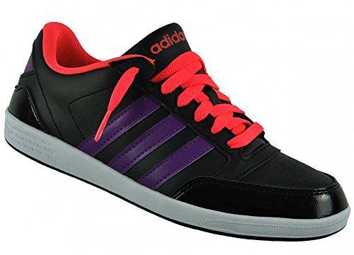 adidas Adidas Neo Vlneo Hoops Lo Damen Black/tripur/redzes, Größe Adidas:5