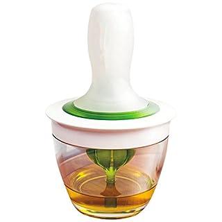 alisable Silikon Küche Backpinsel set-silicone Bürste und Glas Set, Kochen Öl Bürsten für Fleisch oder Ihr Bratpfanne