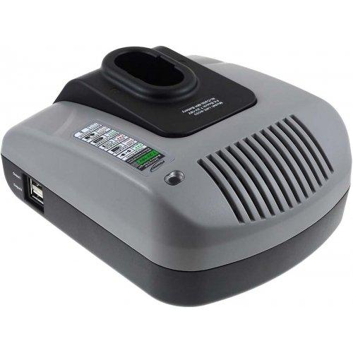 Preisvergleich Produktbild Premium Powery Akku-Ladegerät mit USB für Bosch Heckenschere AHS3 Accu, 7,2V-18V