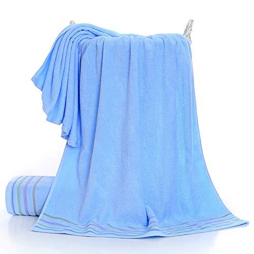 CXBHB Badetuch für Erwachsene, weich, saugfähig, Baumwolle, 70 x 140 cm