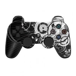 Skins4u Playstation 3 Controller Skin – Design Sticker Set für PS3 Gamepad – Radiosity