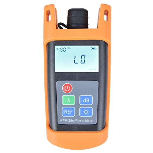 Mini medidor potencia fibra óptica portátil -50dBm