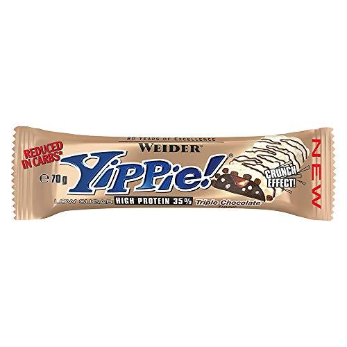 Bar Triple Chocolate (Weider Yippie! Bar (70g) 24 Riegel; Triple Chocolate)