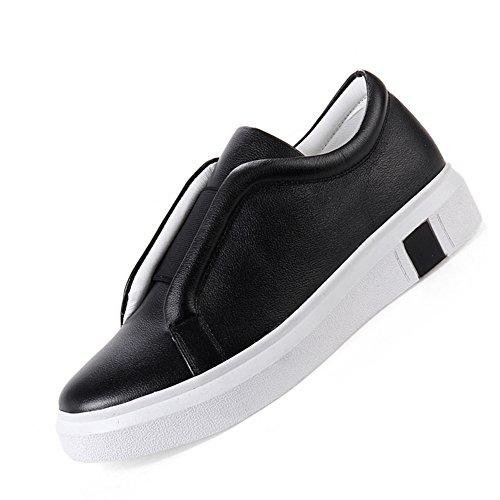 b576adc58639f8 Damen Bequem Frühling Low-Top Sneakers Klassische Rund Zehen Flache  Anti-RUtsch Gummi Sohle
