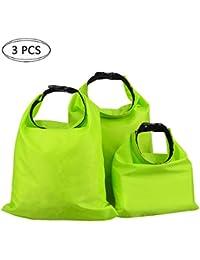 3 Stück Wasserdichte Tasche Wasserfeste Tasche Beutel Trockensack Trockenbeutel für Camera Handy Camping