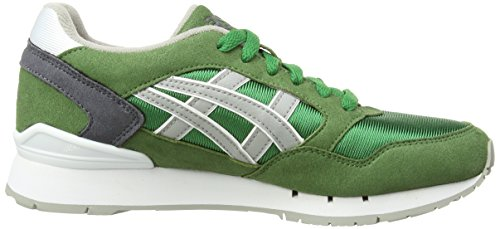 ASICS Gel-Atlanis, Chaussures Multisport Outdoor Mixte adulte Vert (Emerald Green/Silver/Flash Yellow 8893)