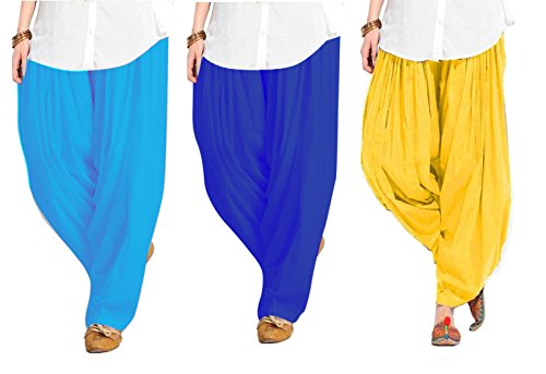 Spangel Fashion Women's Pure Cotton Full Stitched Ready made Patiala Bottom Salwar...