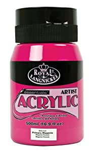 Royal & Langnickel RAA-5122 Essentials 500ml Acrylic Paint - Primary Magenta