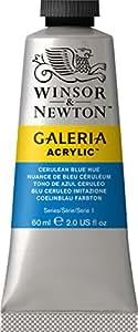 Galeria Tube Acrylic Colour, Cerulean Blue Hue, 60 ml