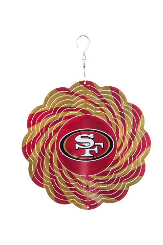 Team Sports America San Francisco 49ERS Geo Spinner -