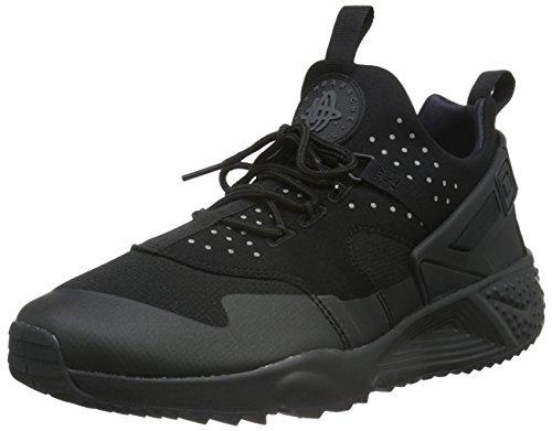 Nike Herren Air Huarache Utility Low-Top, Schwarz (Black), 45 EU