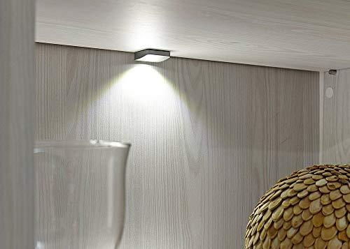 Peter ANLL711022 Highboard Sideboard Kommode Schrank Anrichte Mehrzweckschrank, Holz, weiß, 40.0 x 178.0 x 130.0 cm - 6