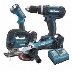 LXT425 Kit 4 outils 18V Li-ion Makita
