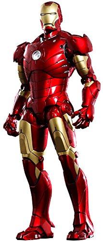 Hot Toys–htmms256d07–Figur Iron Man Mark III Die Cast–Marvel