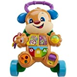 Fisher-Price Laugh and Learn Smart Stages Learn with Puppy Walker, Multi Color