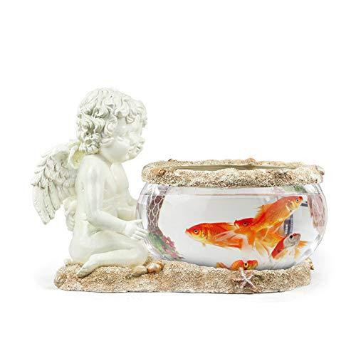 um Nordeuropäischen Hause praktische Dekorationen kreative Glas kleine Aquarium Ornamente Wohnzimmer tischdekoration Harz Handwerk ()
