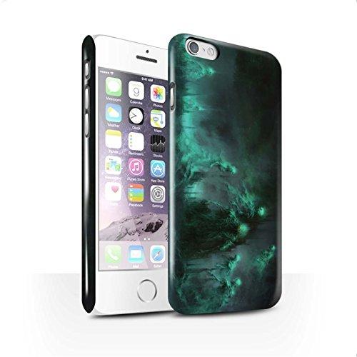 Offiziell Chris Cold Hülle / Glanz Snap-On Case für Apple iPhone 6 / Schatten Ritter Muster / Unterwelt Kollektion Hades/Phantom