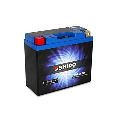 Shido lt12b-bs Lion-S- Batteria agli ioni di litio ricaricabile - blu