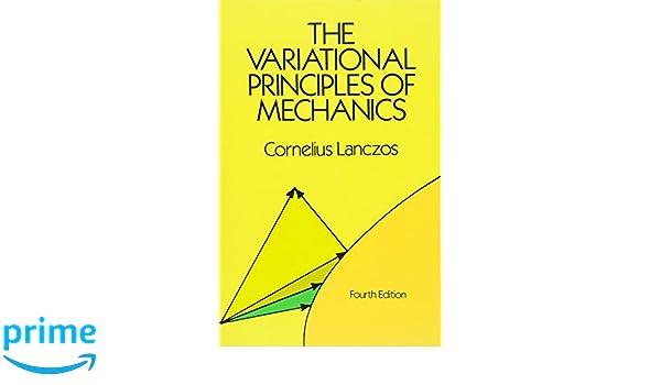 The Variational Principles Of Mechanics Lanczos Pdf