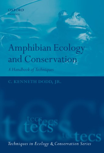 Amphibian Ecology and Conservation: A Handbook of Techniques (Techniques in Ecology & Conservation) (English Edition) por C. Kenneth Dodd Jr