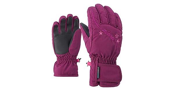 Girls Glove Junior R Ziener Milton as Unisex Children