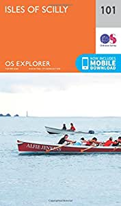 OS Explorer Map (101) Isles of Scilly