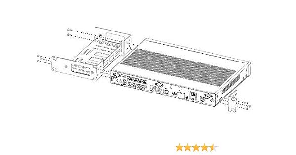 Cisco Compatible 1ru Rack Mount Kit For Cisco 1000 Computer Zubehör