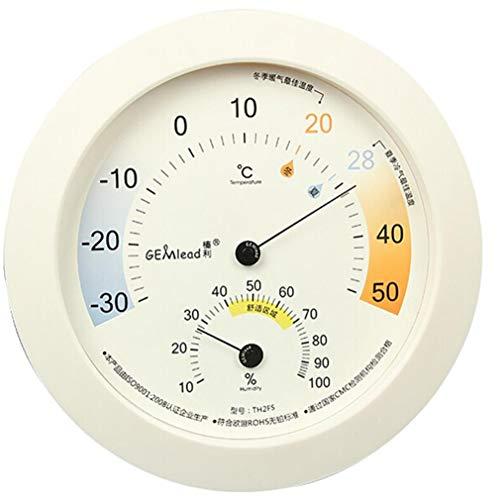 Higrometro Digital Termometro Higrometro Digital Relojes Jardin Hogar Interior Pantalla Grande Hogar...